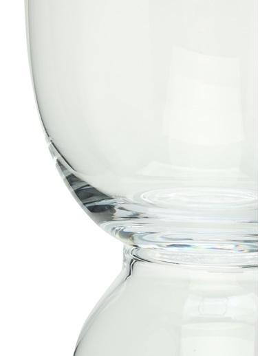 Abhika Abhika Şeffaf Ayak Detaylı Cam Vazo 101522029 Renksiz